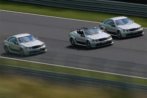 Video: Raikkonen Joins Kim Dotcom in a Mercedes at the Green Hell