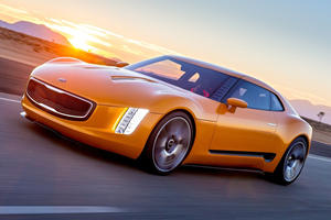 Could The Stunning Kia GT4 Stinger Concept Return As An EV Halo Model?
