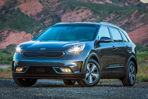 The Rear Seat Of The Kia Niro Hybrid Could Catch Fire