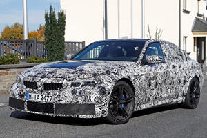 New BMW M3 Drops More Camo For Our Spy Cameras