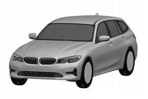 New BMW 3 Series Wagon Leaks In Patent Photos