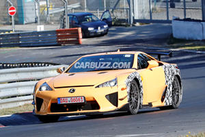 What Is This Mysterious Lexus With An LFA Body?