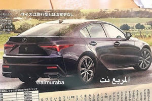 Is This The 2021 Lexus IS Way Before You're Supposed To See It?