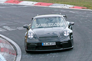 Here's Our First Look At The Next-Generation Porsche 911 GT3