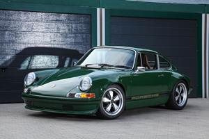 Modified Porsche 964 Gets A Vintage Makeover
