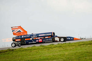 Bloodhound Rocket Car Hits Financial Wall