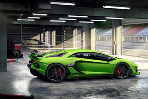 Here's How Aerodynamics Make The Lamborghini Aventador SVJ So Much Faster