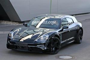 Porsche Taycan Sport Turismo Spied As Porsche Confirm Production