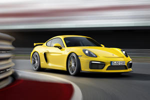 Get Ready For The Porsche Cayman T