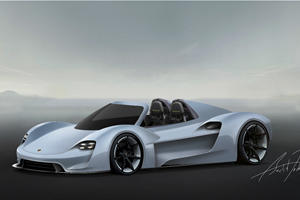 This Is What The Porsche 918 Successor Could Look Like