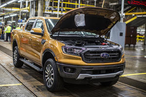 The Ford Ranger Is Officially Back In Production