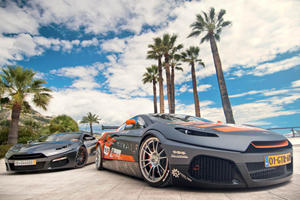 Savage Rivale GTS and Race-Ready GTR at Top Marques in Monaco