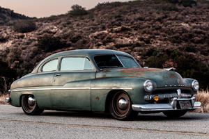 Icon Blends Old And New With Tesla-Powered 1949 Mercury Coupe