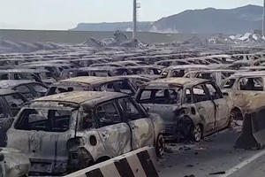 Hundreds Of Maseratis Destroyed By Massive Fire In Italy