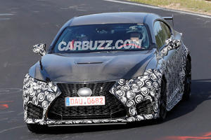 Hardcore Lexus RC F GT Spotted At The Nurburgring