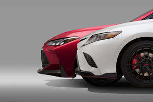 Toyota Teases Sporty TRD Versions Of Camry And Avalon