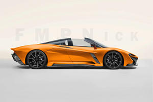 The McLaren Speedtail Looks Stunning As A Spider