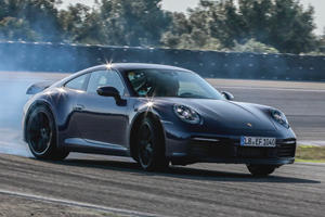 All-New Porsche 911 Final Testing Involves Drifting, Of Course