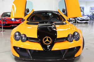 Rare Mercedes-Benz SLR 722S Roadster Can Be Yours For $1 Million