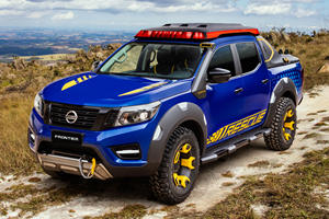 Nissan Frontier Sentinel Concept Comes To The Rescue In Brazil