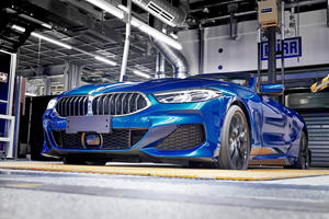 First BMW 8 Series Convertible Rolls Off The Assembly Line