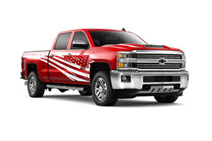 Chevrolet Silverado HD Tribute Edition Wears America On Its Sleeve