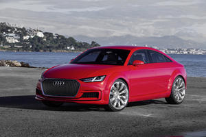 Surprise! Audi Will Transform The TT Into A Four-Door Coupe