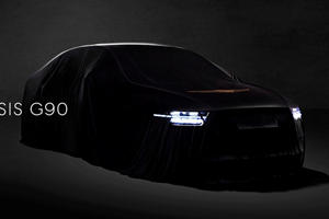 Genesis G90 Facelift Teased With Striking New Image