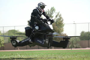 Police Are Being Trained To Fly Hoverbikes In Dubai