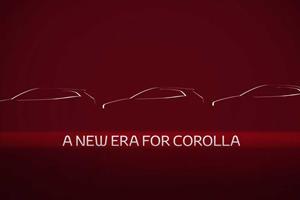 Toyota Teases New Corolla Sedan Before Imminent Debut