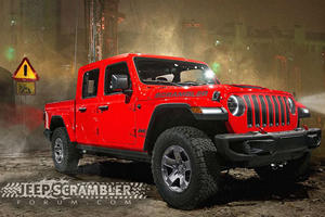 LEAKED: Jeep Scrambler Pickup Truck Will Be Called Gladiator