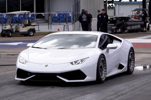 Watch A 2000-HP Lamborghini Huracan Smash The Quarter-Mile In Under 8 Seconds