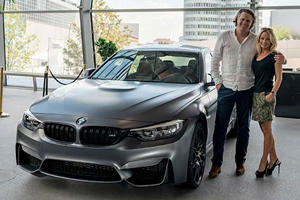 Final European-Spec BMW M3 F80 Rolls Off The Production Line