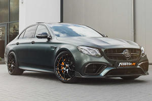 Brabus Turns Mercedes-AMG E63 Into A 789-HP Beast