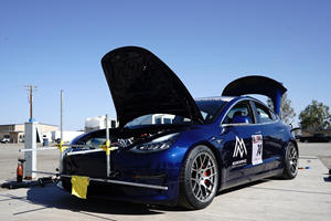 Tesla Model 3 Disqualified From Racing Event For Being All-Electric