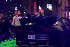 Ford Mustang Crashes Into Bar With Ironic Name