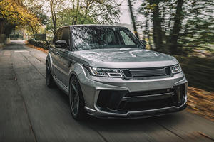 2019 Range Rover Sport SVR Gets A Racy New Look