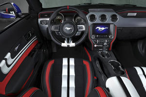 Custom Ford Mustang Convertibles Get Wild Interiors