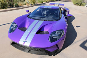 IndyCar Driver Reveals Stunning Purple Ford GT