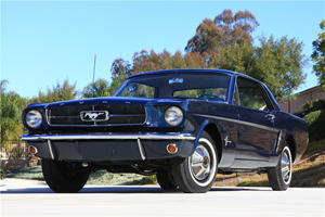 First Ever 1965 Ford Mustang Coupe Up For Sale