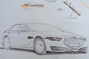 This Is What The 2020 Genesis G90 Will Look Like