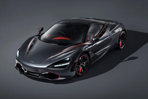 One-Off McLaren 720S Stealth Inspired By A Legend