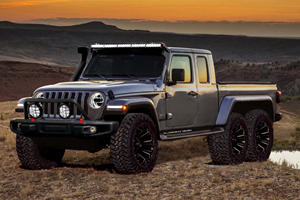 Jeep Gladiator 6x6 Would Be The Ultimate Pickup
