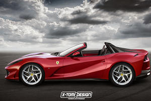 Is Ferrari Set To Reveal An 812 Superfast Convertible?