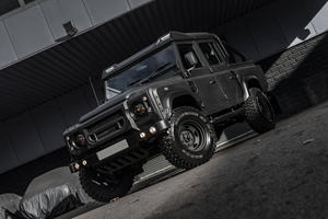 Pimped Land Rover Defender Is One Mean Looking Pickup