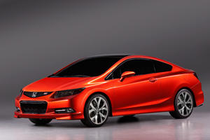 Video: 2012 Honda Civic Si Coupe Concept
