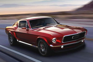 Russia Clones Classic Ford Mustang, Makes It Electric