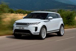2020 Range Rover Evoque To Get Plug-In Hybrid Option