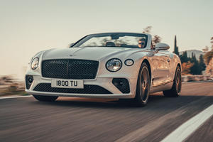 All-New 2019 Bentley Continental GT Convertible Breaks Cover