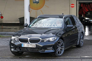 BMW 3 Series Touring Wagon Continues Strip Teasing